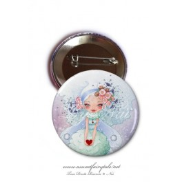 "Badge 56 mm ""Fairy Heart"""