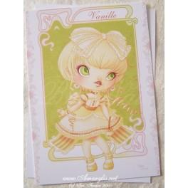 "Carte d'art A6 ""Ice Cream Lotita Vanille"""