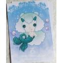 """Carte d'art A6 """"Signe du Zodiaque Capricorne"""""""