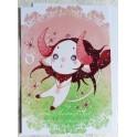 """Carte d'art A6 """"Signe du Zodiaque Taureau"""""""