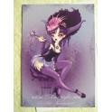"""Carte d'art A6 """"Queen Demone"""""""