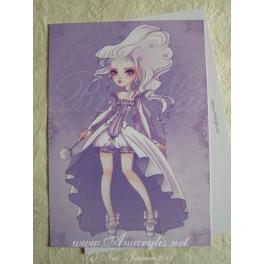 """Carte d'art A6 """"Queen Ice"""""""