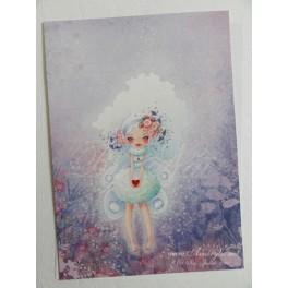 """Carte d'art A5  """"Fairy Heart"""""""