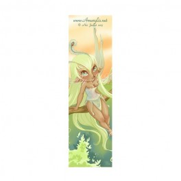 Marque Pages Fairy paon