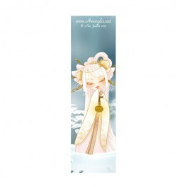 Marque Pages Kokeshi hiver