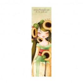 Marque Pages Geisha Tournesol