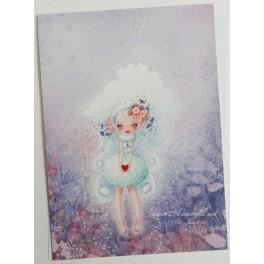 """Carte d'art A6 """"Fairy Heart"""""""