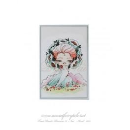 Mini Carte d'art elfe