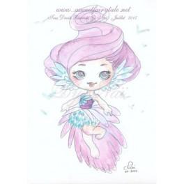 Esquisse Aquarelle Ange