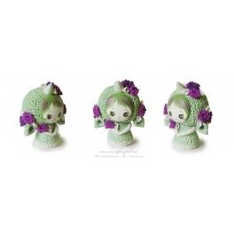 Licorne Kawaïi pet Figurine Fimo