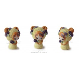 Ours Figurine Fimo Kawaïi pet