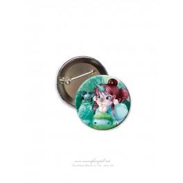"""Badge 56 mm """"Mimü Licorne"""""""