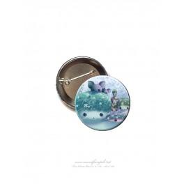 """Badge 56 mm """"Esprit Pierre"""""""