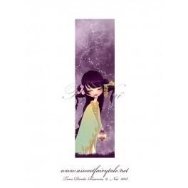 Marque Pages geisha violet