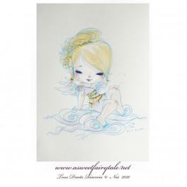 Aquarelle ange
